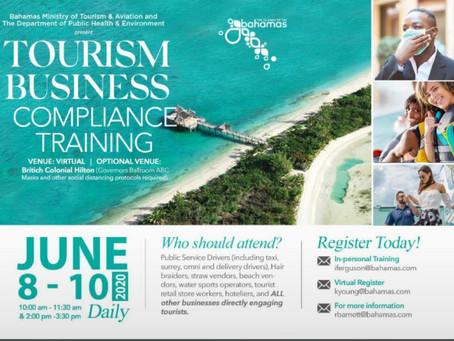 Tourism Business Compliance Training - June 8-10 2020