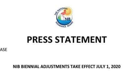 Press Statement: NIB Biennial Adjustments Take Effect July 1, 2020