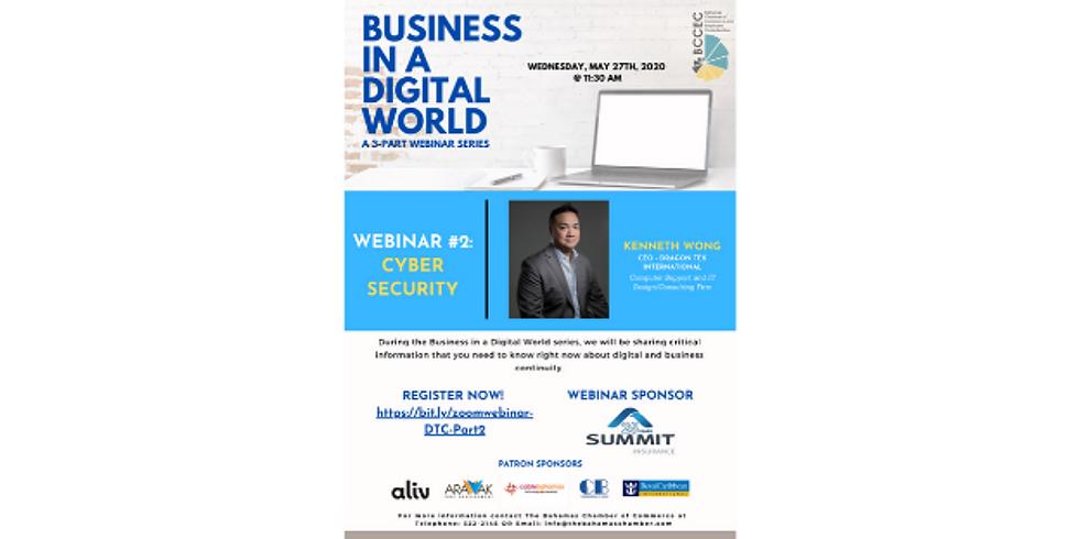DTC Webinar   Business in a Digital World - Cyber Security