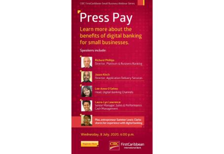 CIBC First Caribbean Small Business Webinar Series - July 8th 2020