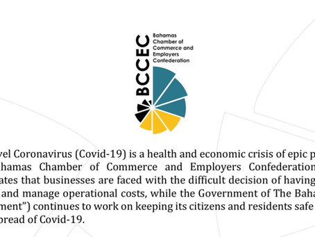 BCCEC PRESS STATEMENT - MEDIA RESPONSE - VAT DEFERRAL