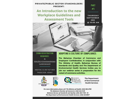 An Introduction to the new Workplace Guidelines and Assessment Tools - Part 3- 3rd September
