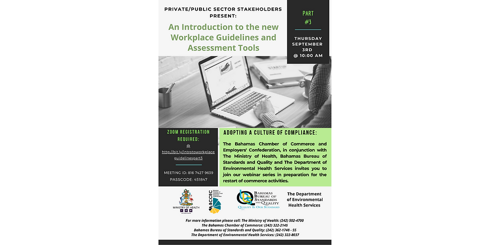 Part #3 An Introduction to the new Workplace Guidelines and Assessment Tools