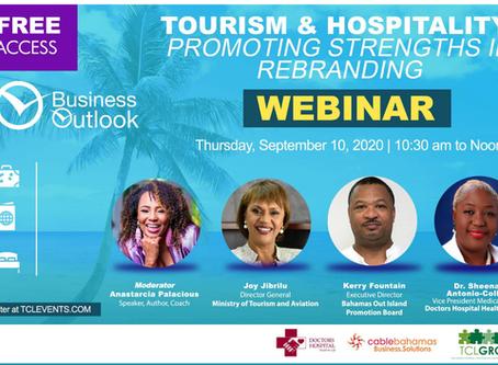 Tourism & Hospitality Webinar | Thursday September 10th, 2020