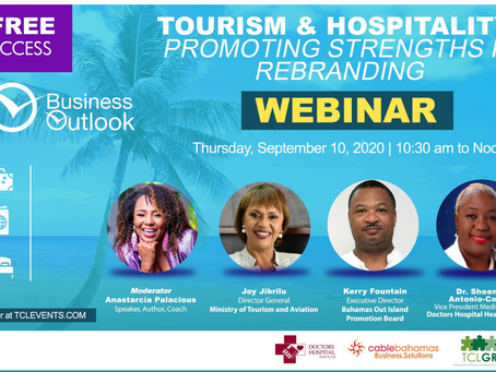 Tourism & Hospitality Webinar | Thursday September 10th, 2020