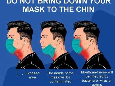 Proper Use of Face Mask