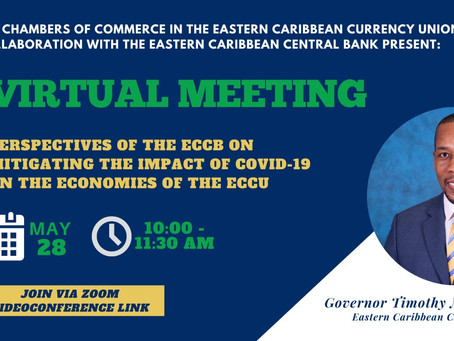 Virtual Meeting: Perspectives of the ECCB on Mitigating the Impact of Covid-19 on the Economies...
