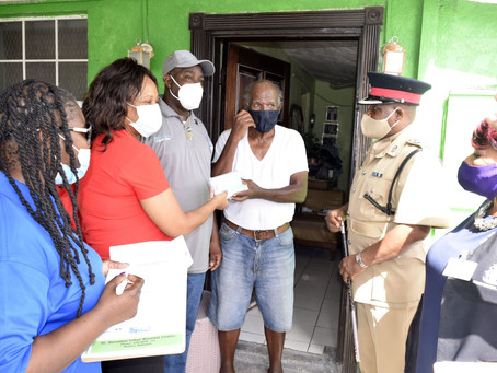 Press Release: Masks Distribution by The Royal Bahamas Police Force, Bahamas Red Cross & Social Serv