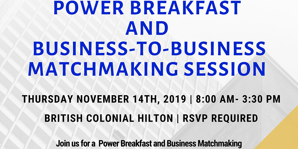 Power Breakfast and Business Matchmaking Session - MDA POSTPONED