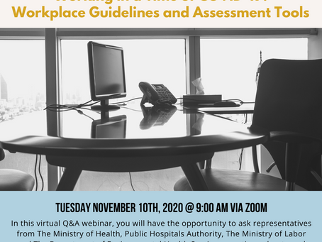 Working in a Time of COVID-19: Workplace Guidelines and Assessment Tools