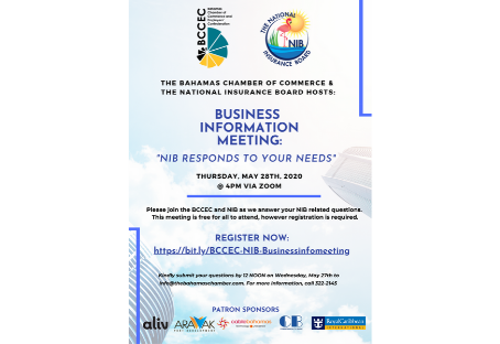 BCCEC & NIB Business Information Meeting: NIB responds to your needs | May 28th 2020