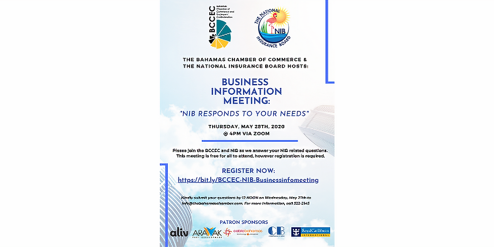 BCCEC & NIB Business Information Meeting