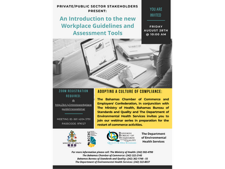 An Introduction to the new Workplace Guidelines and Assessment Tools - 28th August, 2020