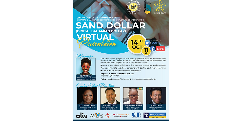 Online Event: Central Bank and BCCEC Presents: Project Sand Dollar