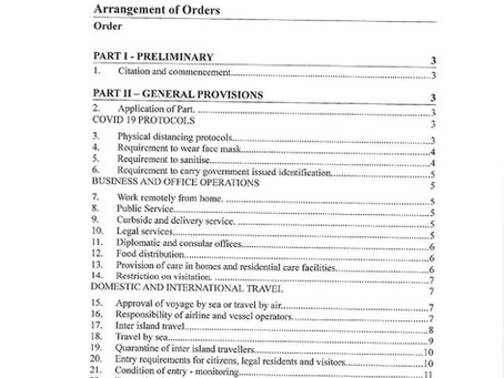 Emergency Powers (Covid 19 Pandemic) (No.4) Order, 2020