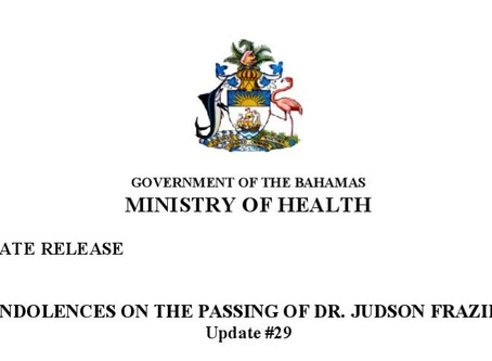 Condolences on the Passing of Dr. Judson Frazier Eneas