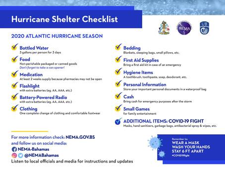 NEMA Bahamas - 2020 Atlantic Hurricane Season