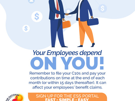NIB: Your Employees Depend on You! Sign up for the ESS Portal