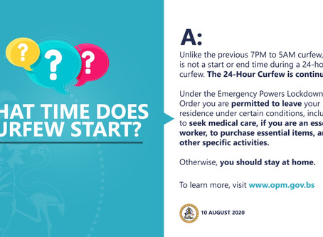 What time does curfew start?