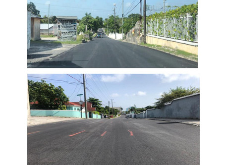 Nassau Street Road Paving Exercise Completed