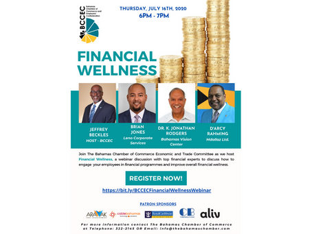 Financial Wellness Webinar - July 16th 2020