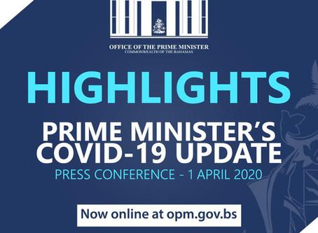 Prime Minister's Covid-19 Update