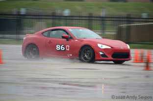 The Art of AutoCrossing in the Rain