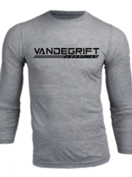 Gray Long Sleeve Super Soft Tee