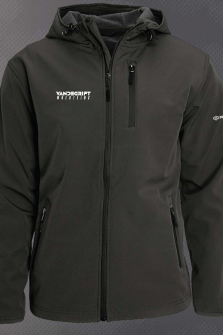 Black Armor Softshell Jacket