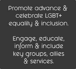 LGBT+ equality and inclusion