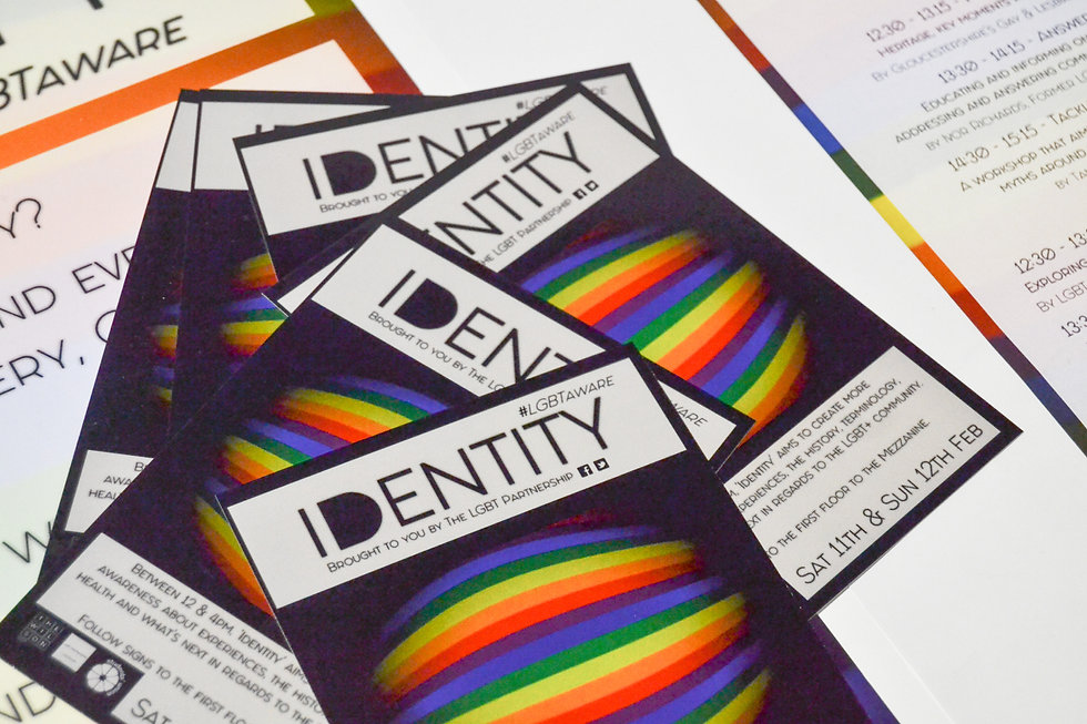 Identity Event Flyers