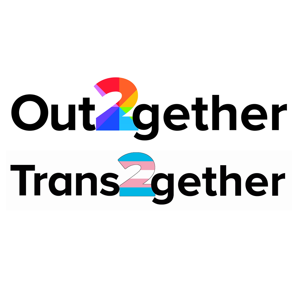 Out2gether & Trans2gether Logos