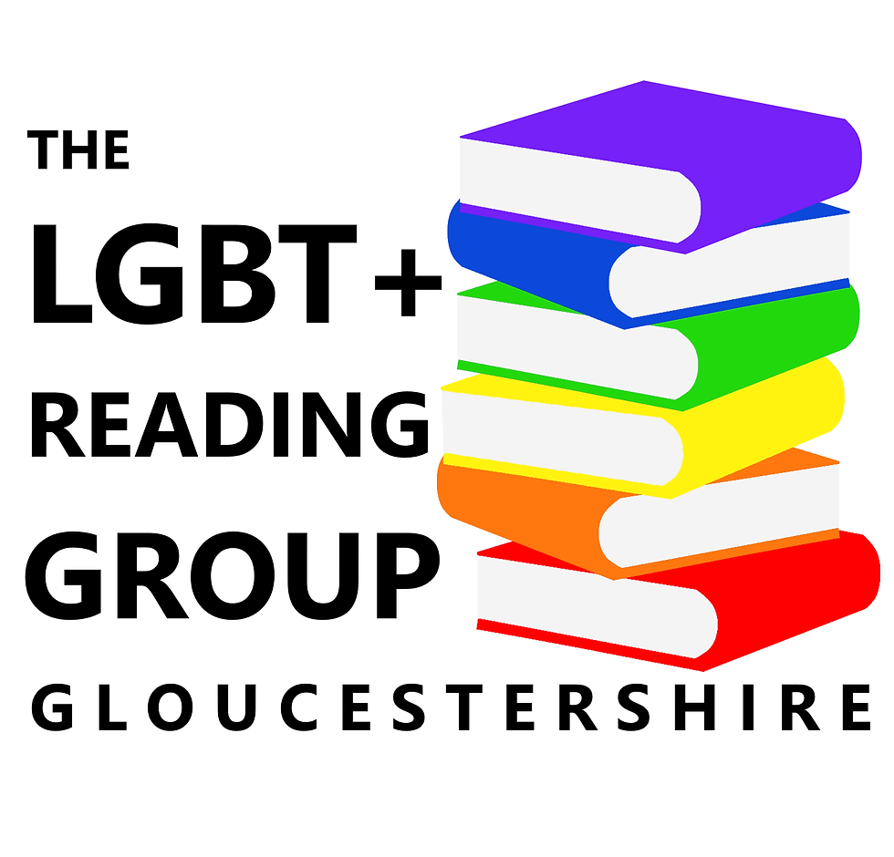 LGBT+ Reading Group Gloucestershire Logo