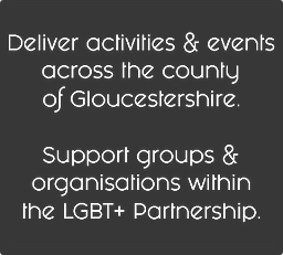 Gloucestershire events and activities LGBT+