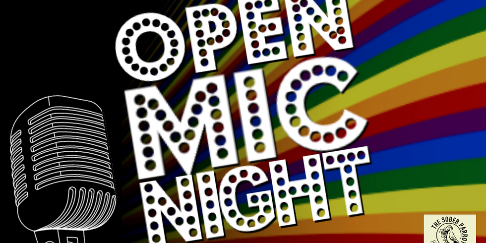 LGBT+ Open Mic Night