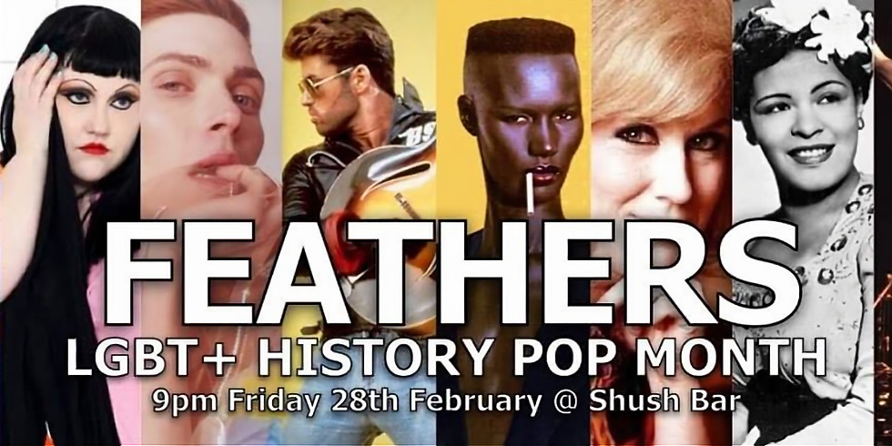 LGBT+ History Pop - Feathers