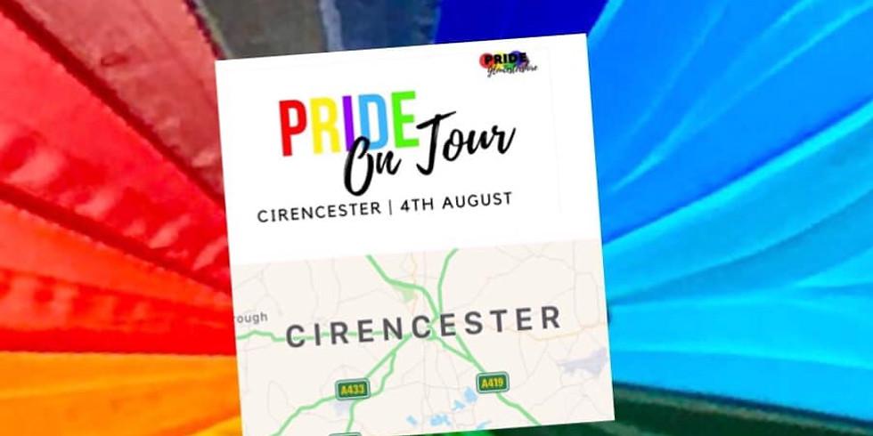 Pride On Tour: Cirencester
