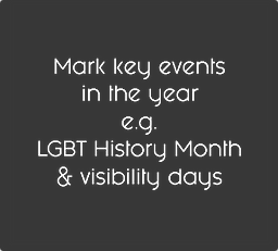 LGBT History Month Gloucestershire Events Rememberance