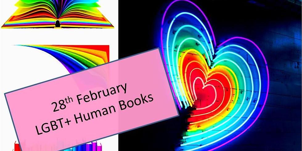 LGBT+ Human Books