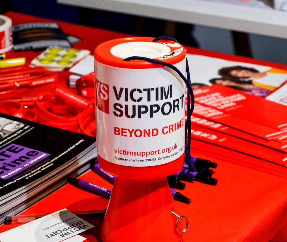 Victim Support Stall