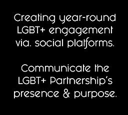 LGBT+ social media Gloucestershire Partnership