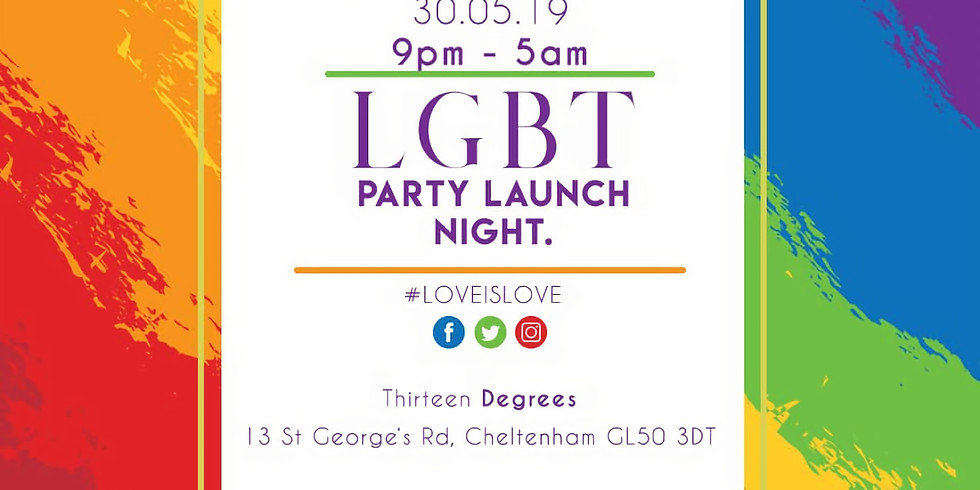 LGBT Party Launch Night