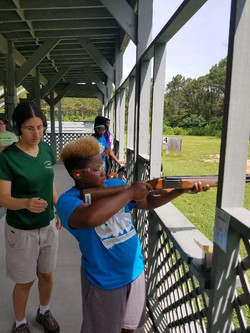 Summer trap shooting lessons at CWK