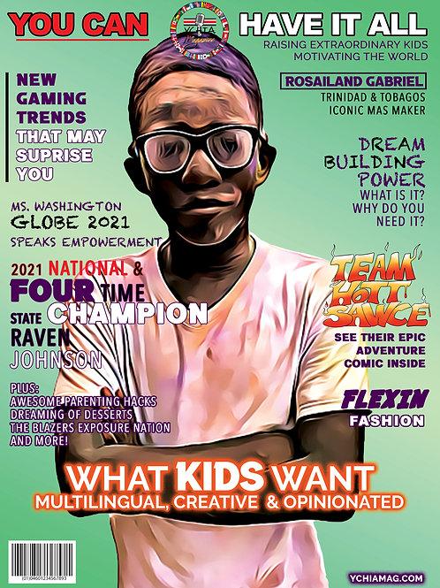 PRE-ORDER Y.C.H.I.A.  NOVEMBER ISSUE (HARD COPY)