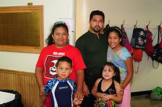 hispanic family enjoying cwk
