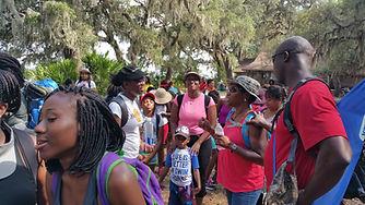 families on cwk cumberland island trip