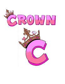 girls camp crown logo