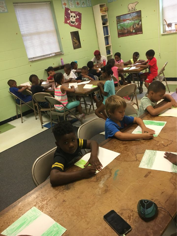 campers enjoy summer learning