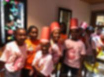 girls camp trip to benihana
