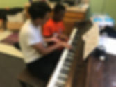 piano lessons at camp warrior king